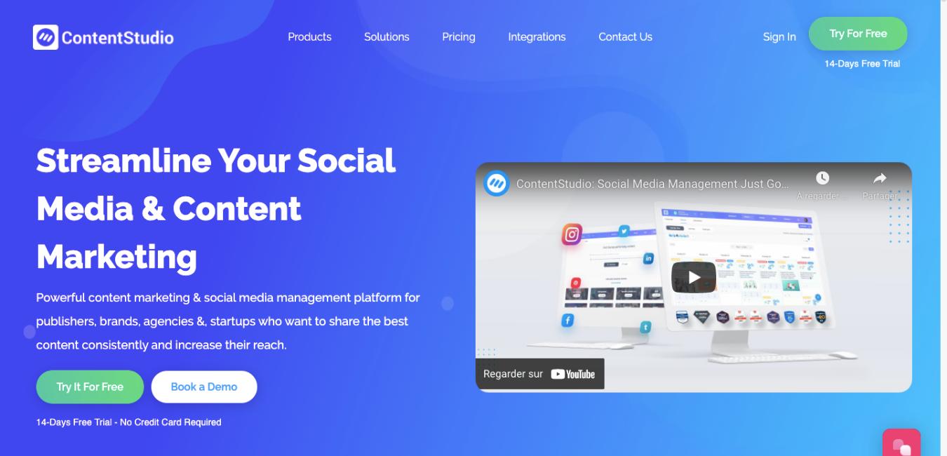 ContentStudio - Business Tools review - notre avis