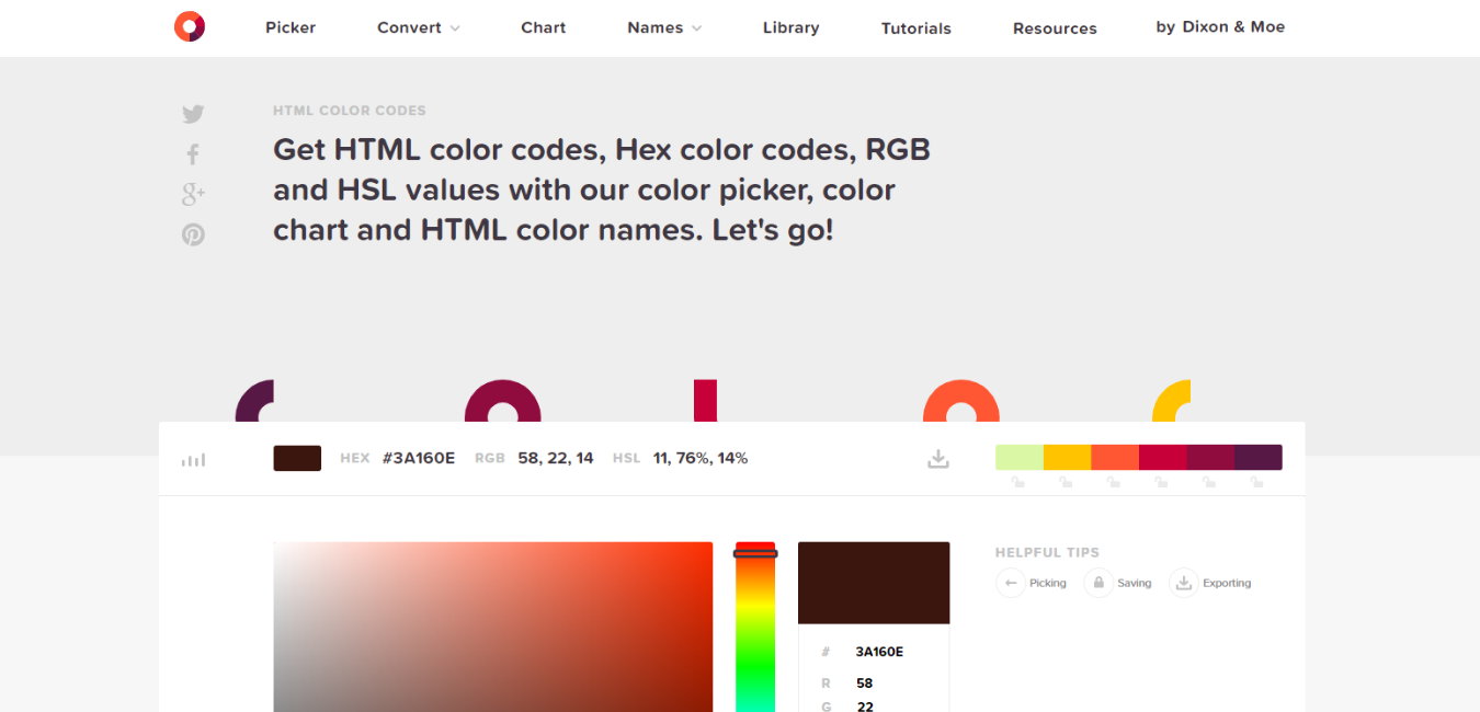 HTML Color Codes - Business Tools Review - Website